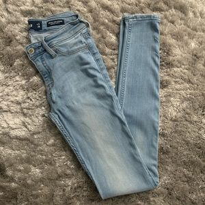 Hollister Low Rise Jean Legging Advances Stretch